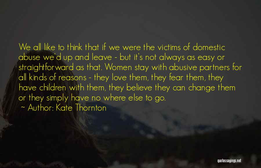 Partners Love Quotes By Kate Thornton