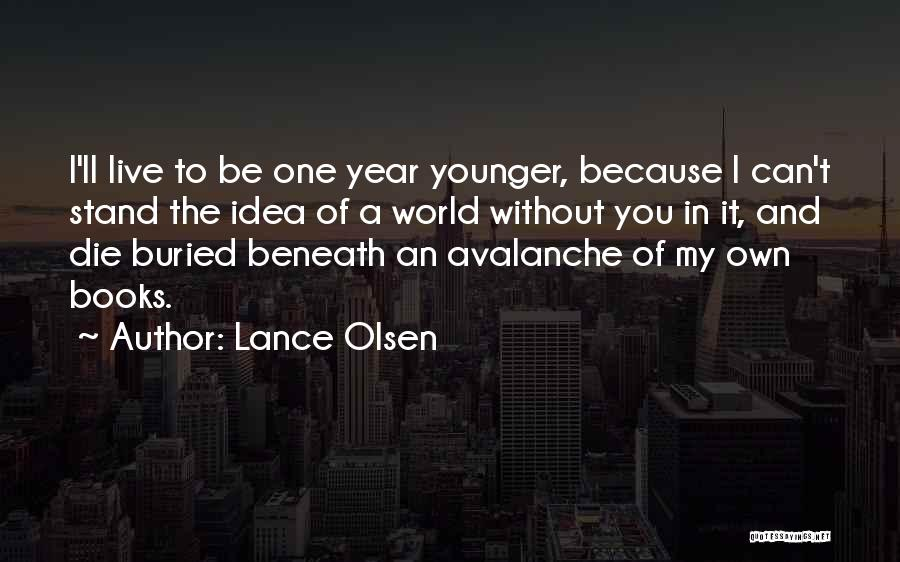 Partners Love Quotes By Lance Olsen