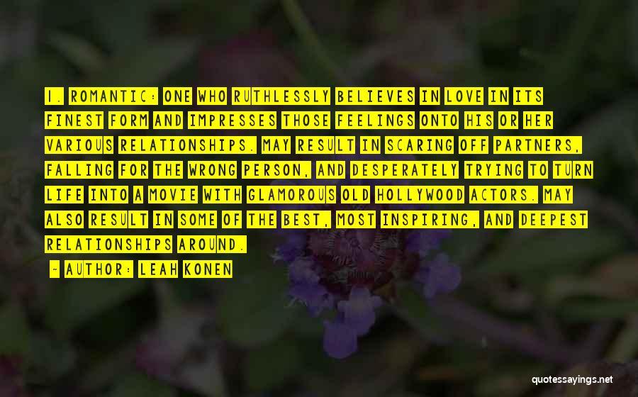Partners Love Quotes By Leah Konen