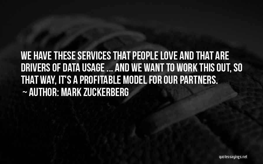 Partners Love Quotes By Mark Zuckerberg