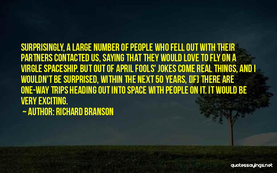Partners Love Quotes By Richard Branson