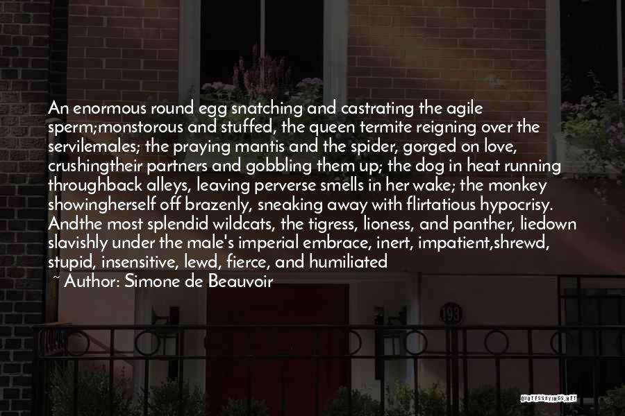 Partners Love Quotes By Simone De Beauvoir