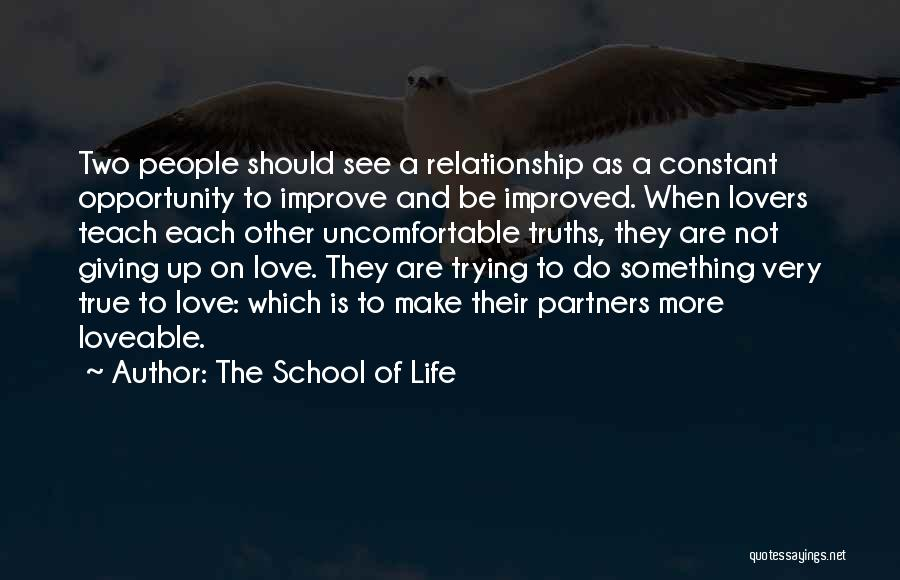 Partners Love Quotes By The School Of Life
