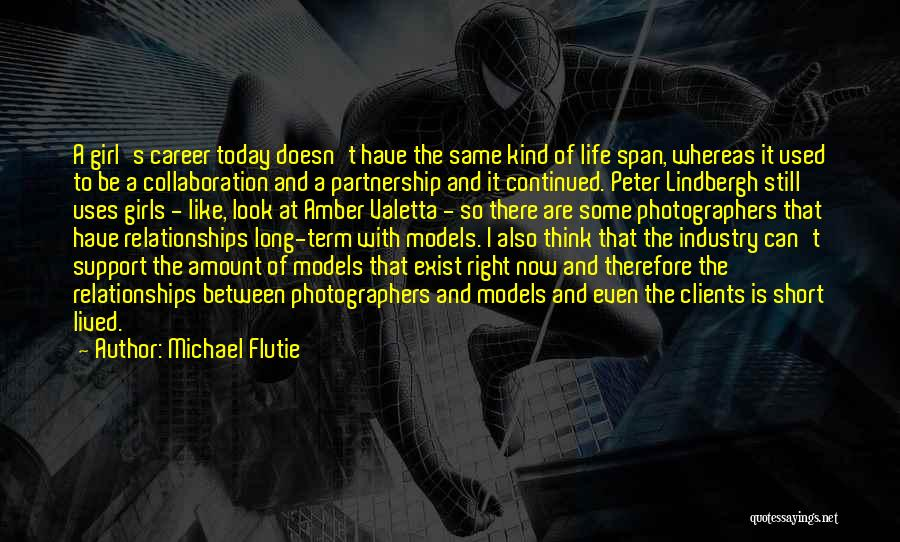 Partnership In Relationships Quotes By Michael Flutie