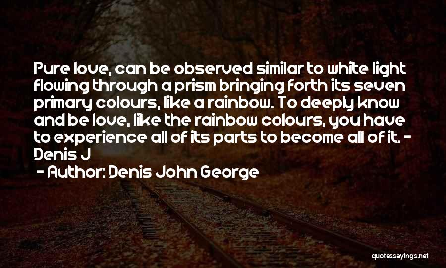 Parts Of The Body Quotes By Denis John George