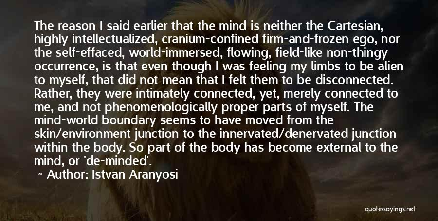 Parts Of The Body Quotes By Istvan Aranyosi