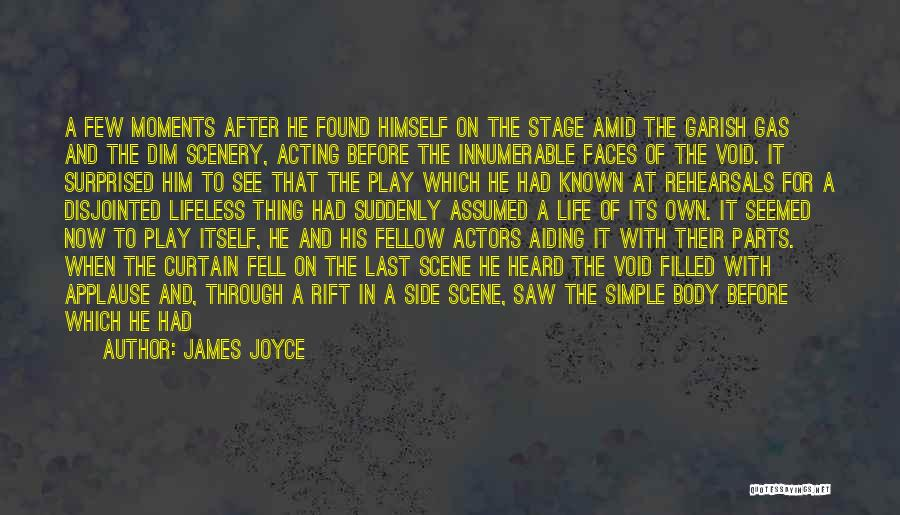 Parts Of The Body Quotes By James Joyce