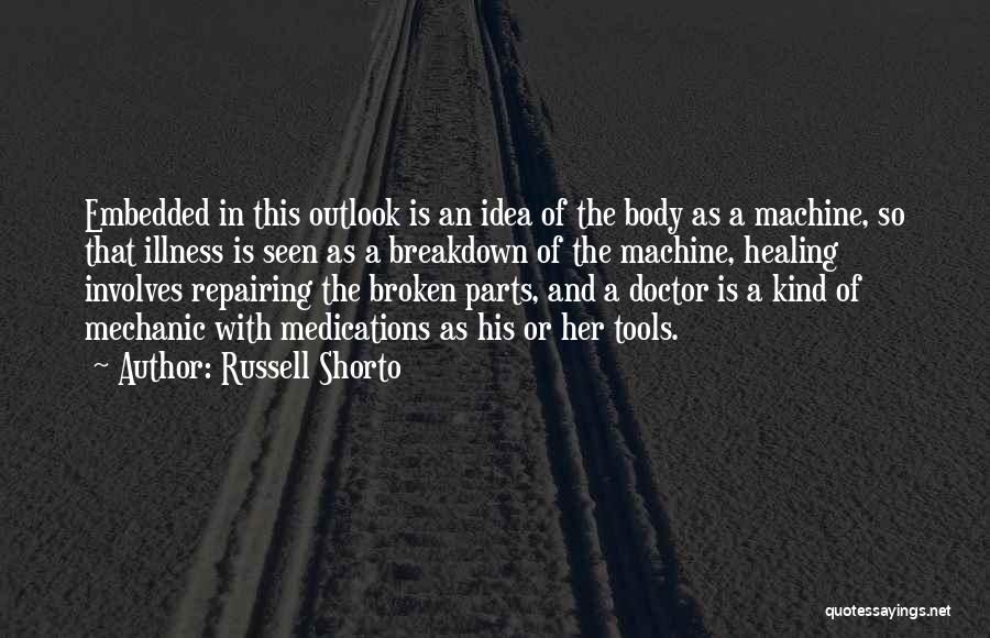 Parts Of The Body Quotes By Russell Shorto