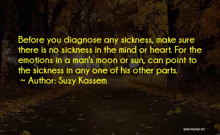 Parts Of The Body Quotes By Suzy Kassem
