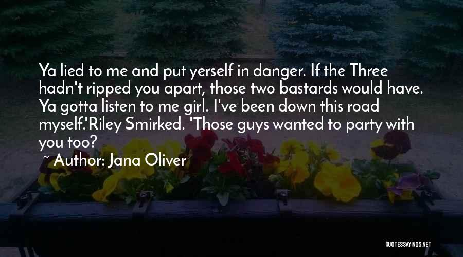 Party Girl Quotes By Jana Oliver