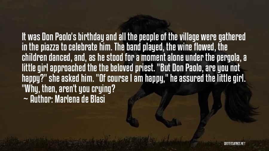 Party Girl Quotes By Marlena De Blasi