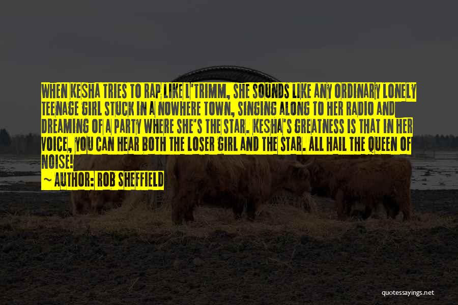Party Girl Quotes By Rob Sheffield