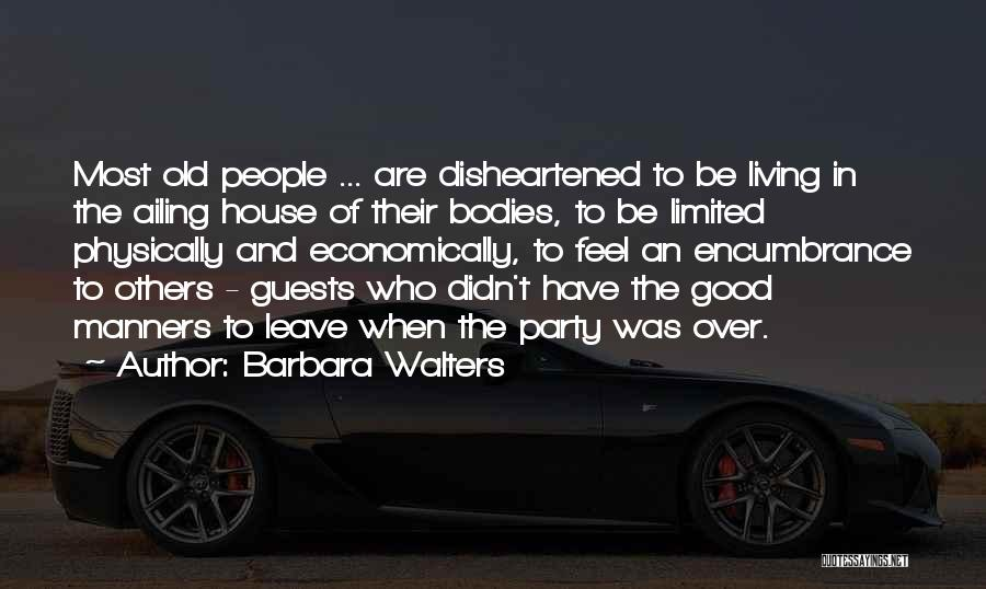 Party Guests Quotes By Barbara Walters