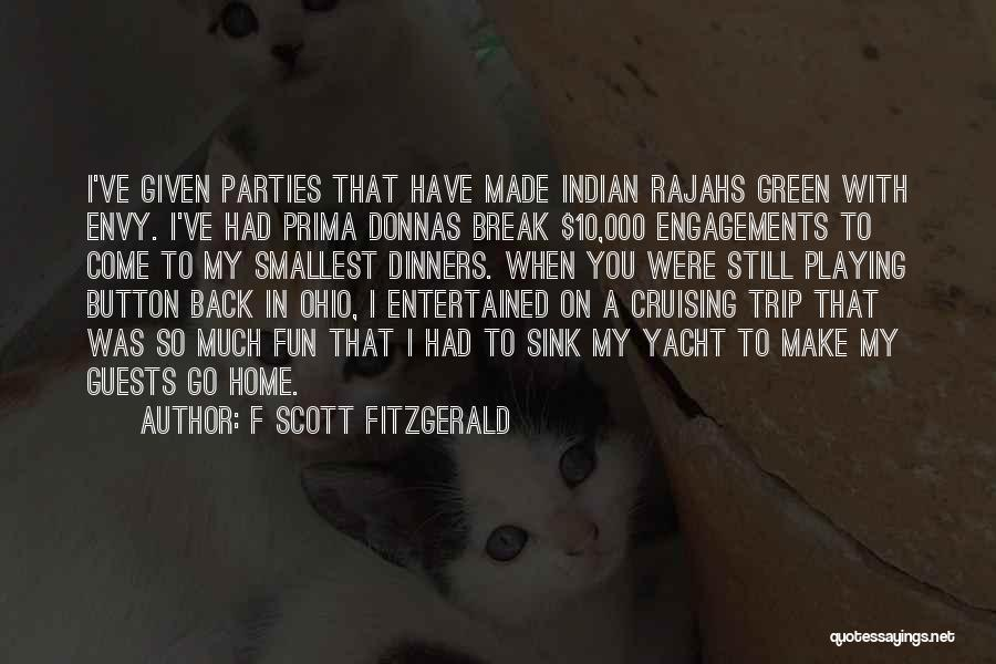 Party Guests Quotes By F Scott Fitzgerald