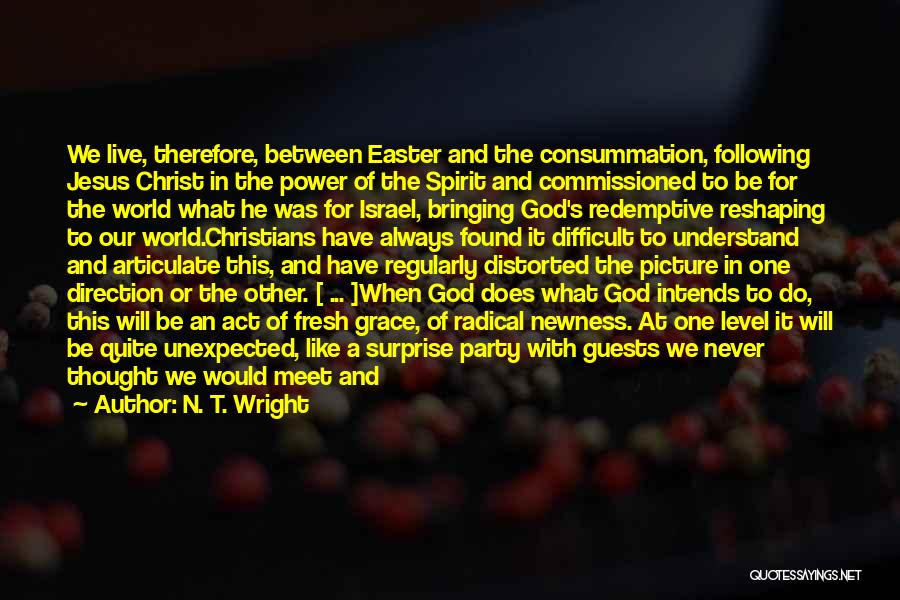 Party Guests Quotes By N. T. Wright