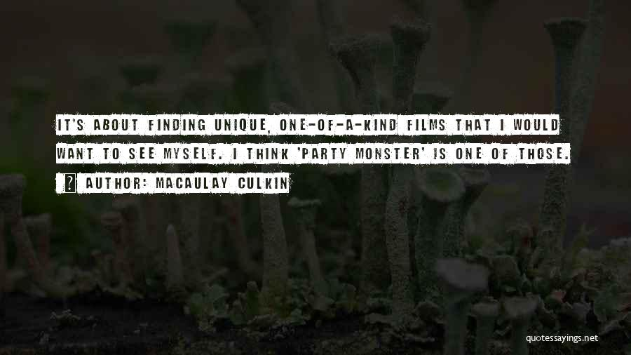 Party Monster Quotes By Macaulay Culkin