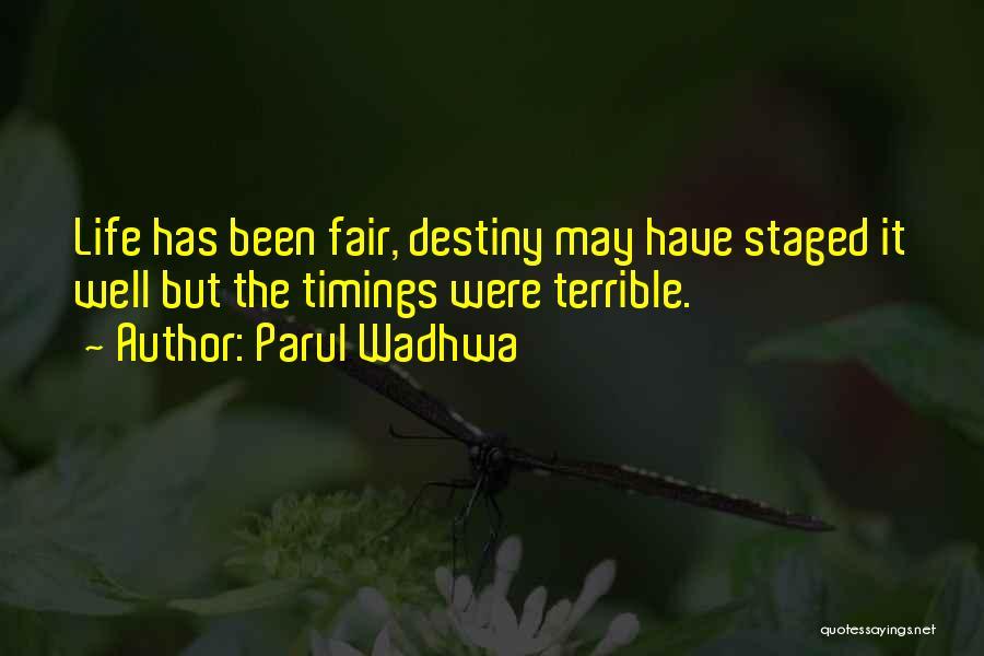 Parul Wadhwa Quotes 1913621