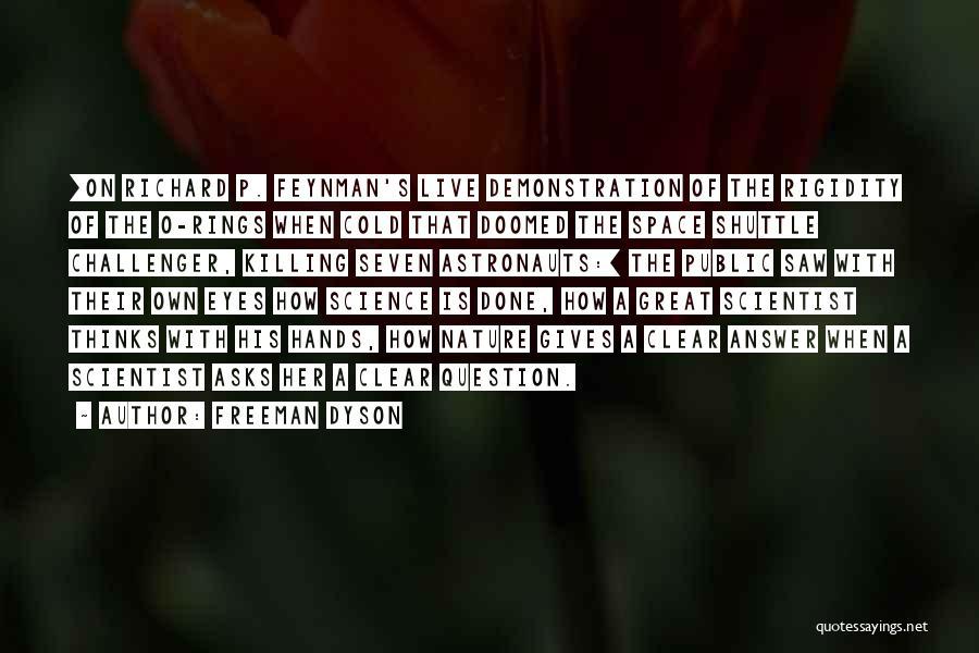 Parumala Thirumeni Quotes By Freeman Dyson
