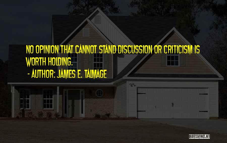 Parumala Thirumeni Quotes By James E. Talmage
