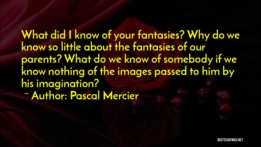 Pascal Mercier Quotes 340482