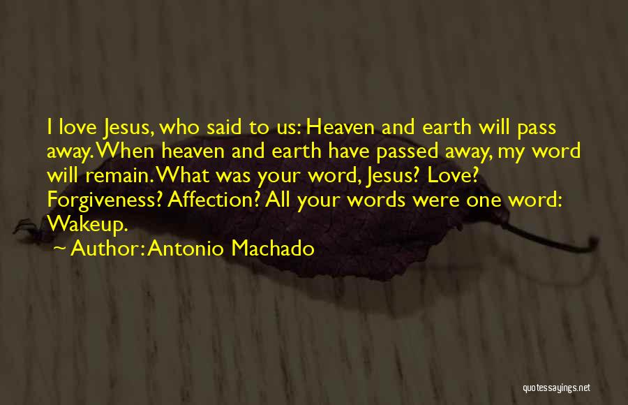 Passed Away Quotes By Antonio Machado
