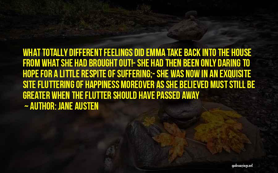 Passed Away Quotes By Jane Austen