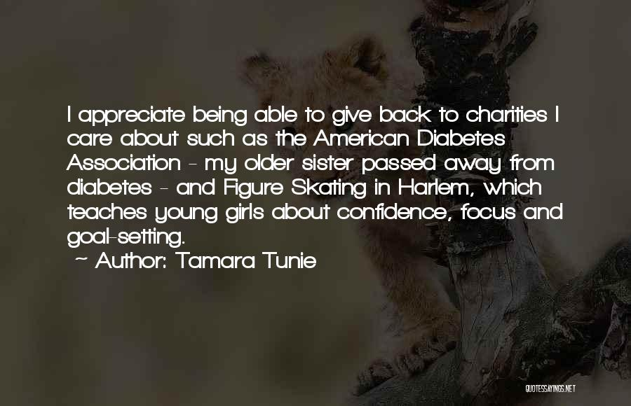 Passed Away Quotes By Tamara Tunie