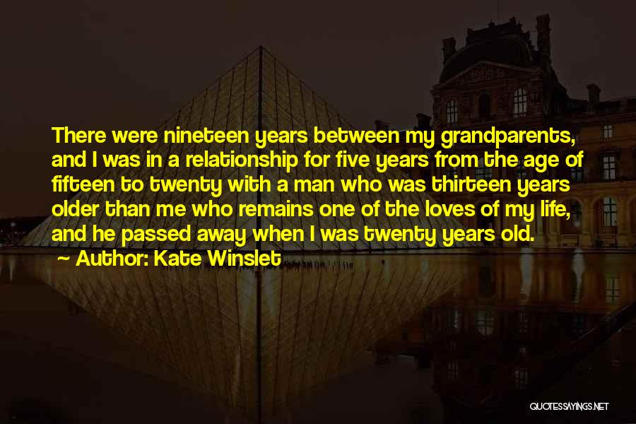 Passed Grandparents Quotes By Kate Winslet