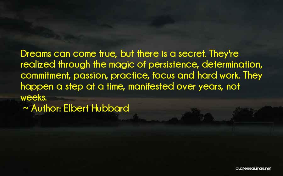 Passion And Commitment Quotes By Elbert Hubbard