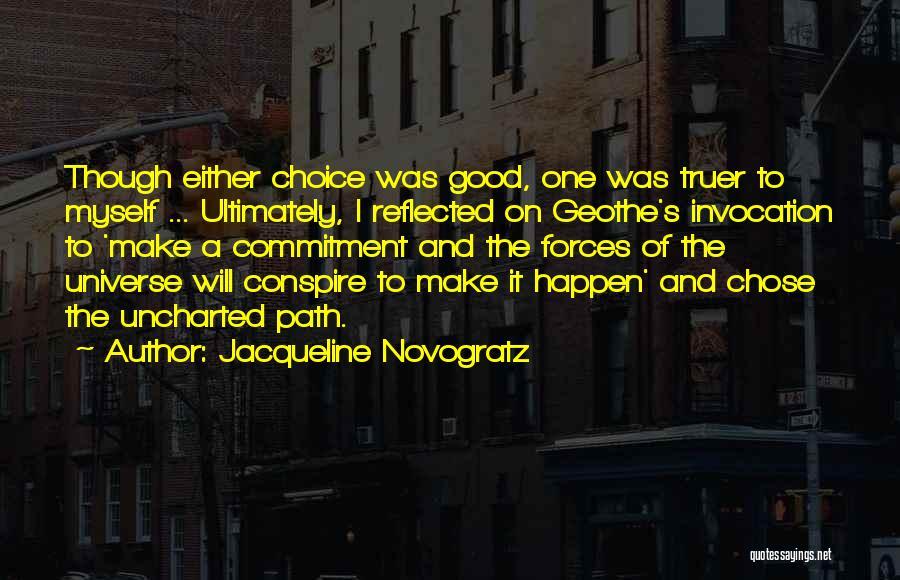 Passion And Commitment Quotes By Jacqueline Novogratz