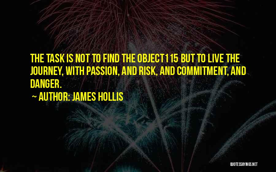 Passion And Commitment Quotes By James Hollis