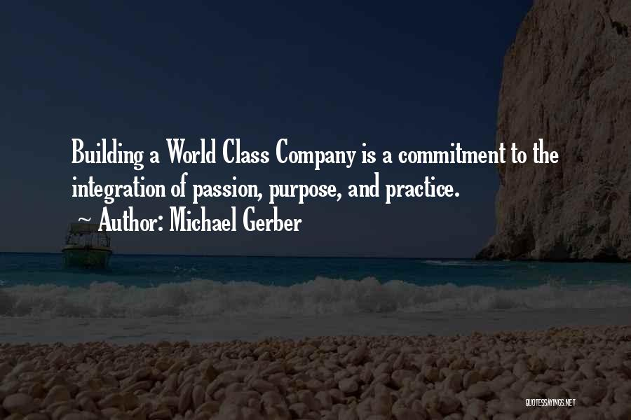 Passion And Commitment Quotes By Michael Gerber