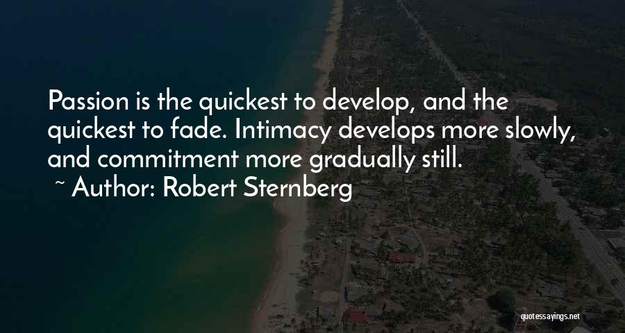 Passion And Commitment Quotes By Robert Sternberg