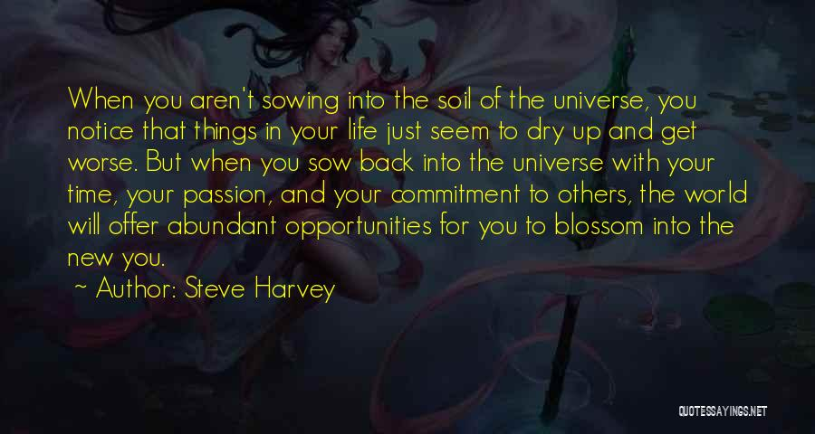 Passion And Commitment Quotes By Steve Harvey