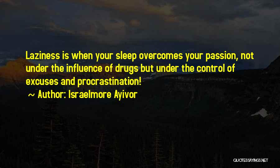 Passion And Hard Work Quotes By Israelmore Ayivor