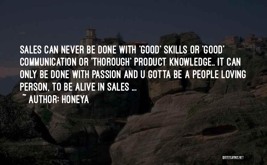 Passion In Business Quotes By Honeya