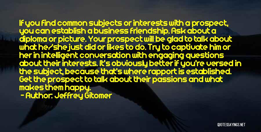 Passion In Business Quotes By Jeffrey Gitomer