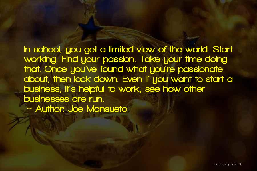 Passion In Business Quotes By Joe Mansueto