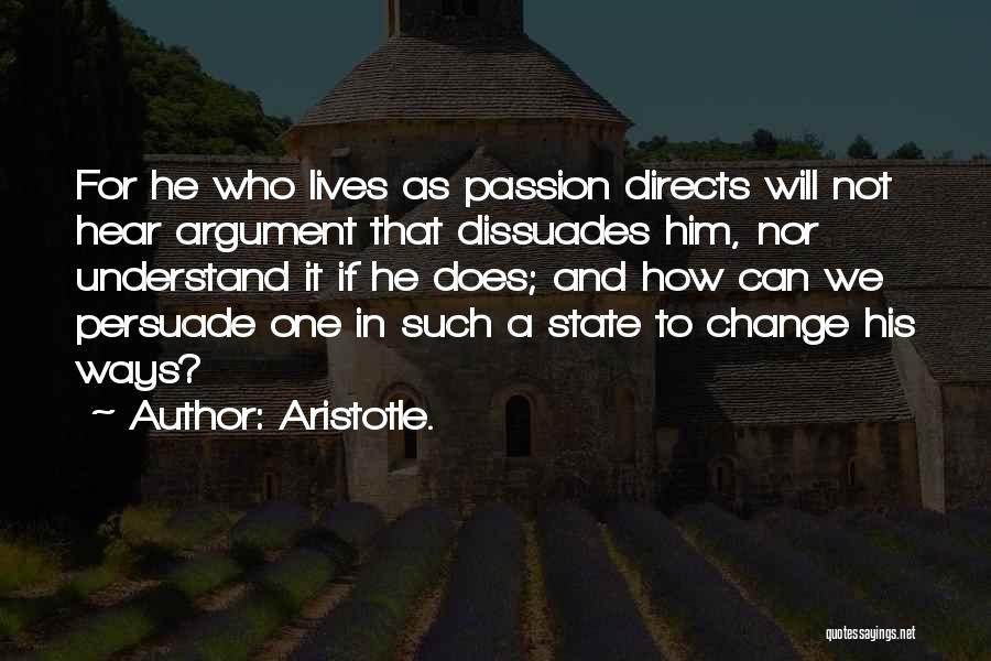Passion Quotes By Aristotle.