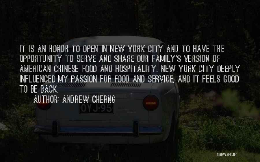 Passion To Serve Quotes By Andrew Cherng