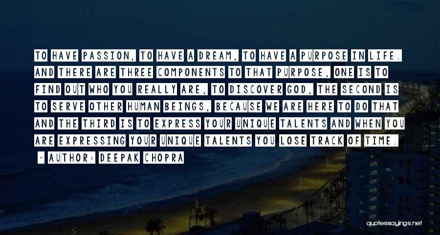 Passion To Serve Quotes By Deepak Chopra
