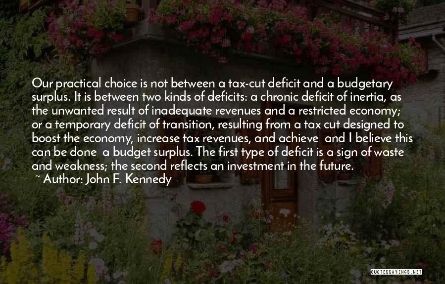 Past Reflects Future Quotes By John F. Kennedy