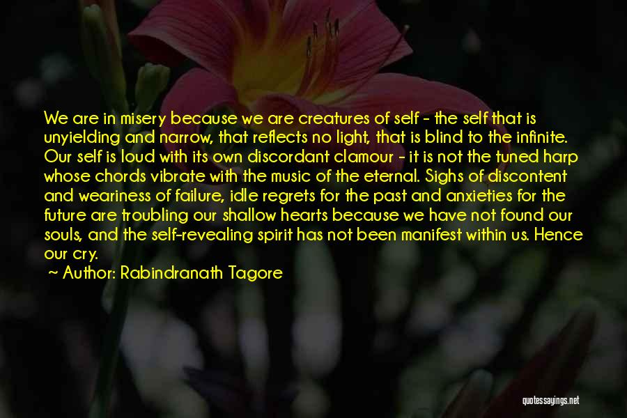 Past Reflects Future Quotes By Rabindranath Tagore