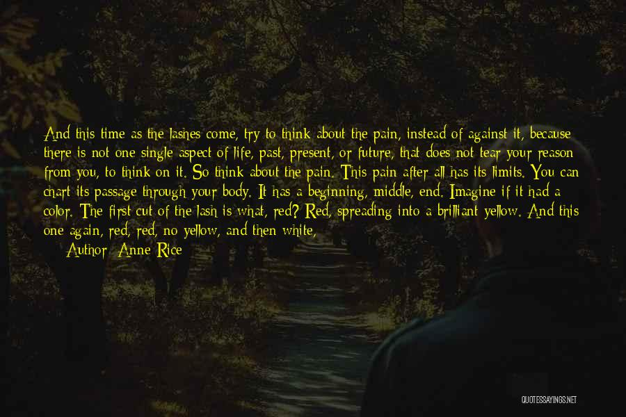 Past School Life Quotes By Anne Rice