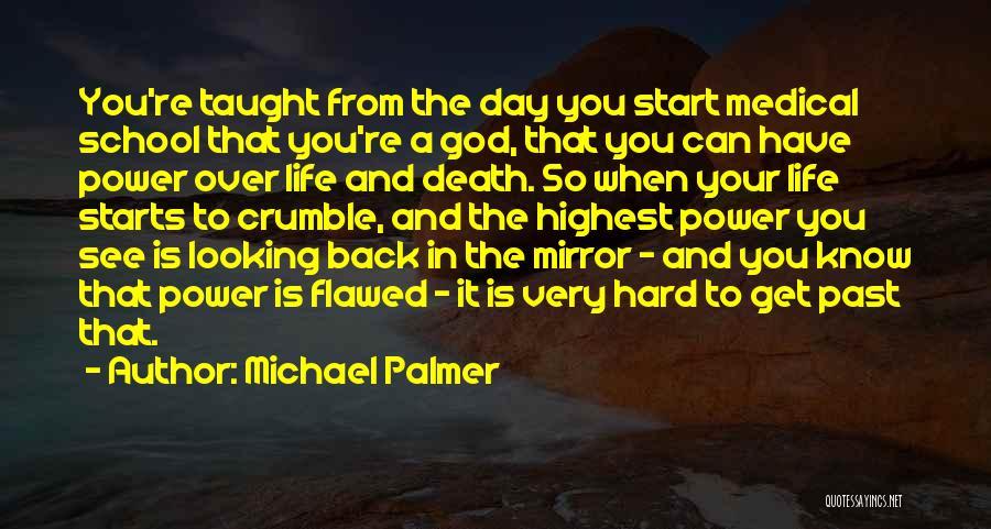 Past School Life Quotes By Michael Palmer