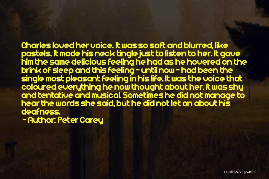 Pastels Quotes By Peter Carey
