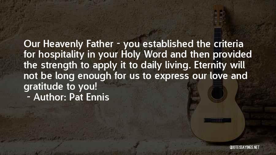 Pat Ennis Quotes 1141807