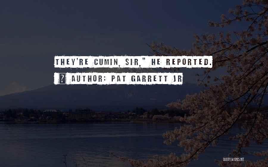 Pat Garrett Jr Quotes 1277312