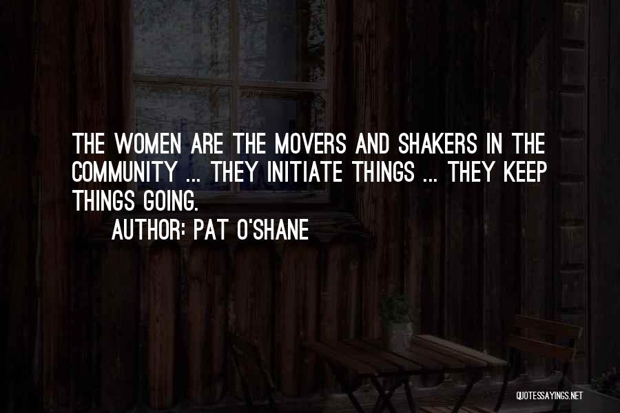 Pat O'Shane Quotes 302467