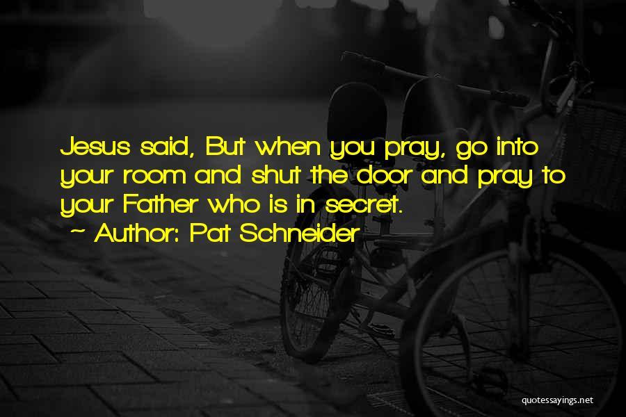 Pat Schneider Quotes 1719865